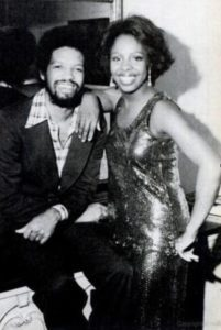 Aaliyah's uncle Barry Hankerson and Gladys Knight
